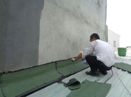 chống thấm khe tiếp giáp giữa hai nhà
