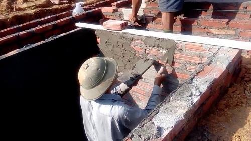 xây dựng bể phốt