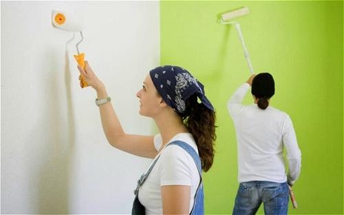 Cách pha sơn chống thấm