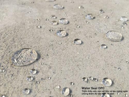 đặc tính nổi bật Water seal