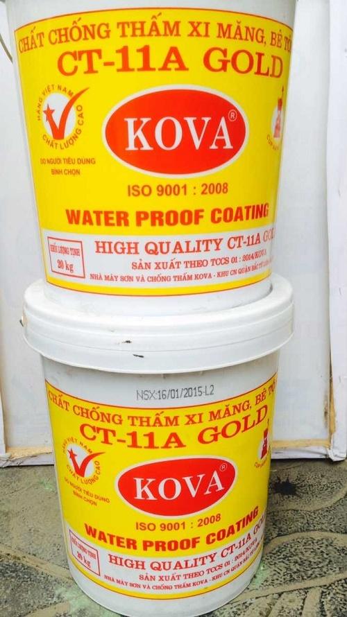 Chất chống thấm xi măng, bê tông kova ct11a