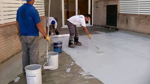Quy trình thi công sơn chống thấm Mariseal 250