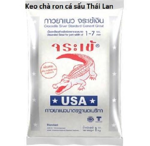 Keo chà ron cá sấu
