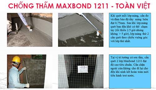 chống thấm maxbond 1211