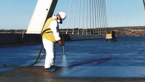 thi công chống thấm mặt cầu