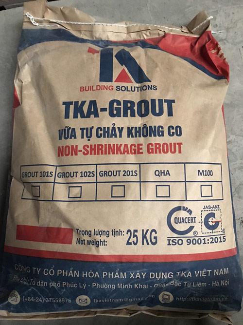 Vữa tự chảy TKA-GROUT101S